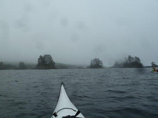 Ocean Sound Kayaking: Arriving at S'Gang Gwaay