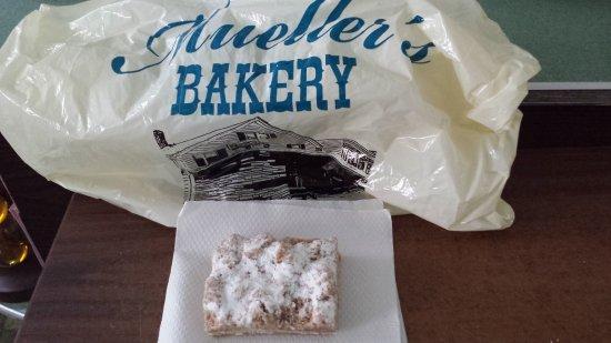 Bay Head, NJ: Can't get enough crumb cake