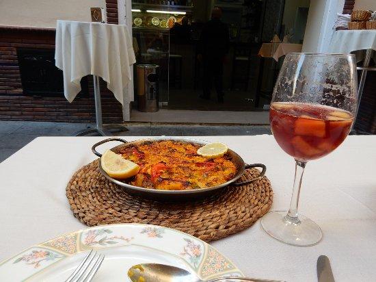 La Isla : Paella excellente