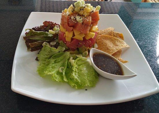 Esterillos Este, Costa Rica: Tuna tartar