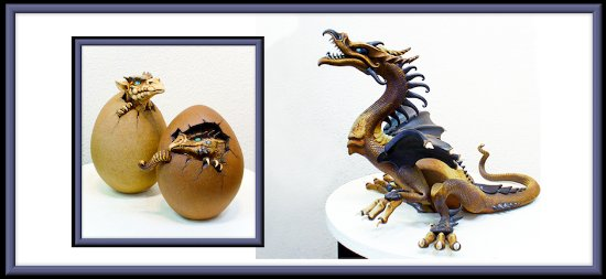 Salida, Κολοράντο: Dragon and Dragon Eggs, by Dennis Thompson