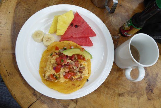 Cafe Mar Azul: Breakfast Tacos