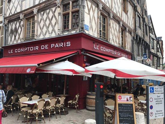 Le comptoir de paris bourges omd men om restauranger - Le comptoir des mers paris ...