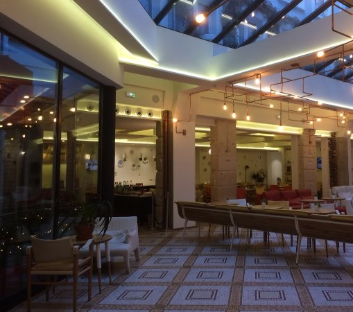 breakfast area picture of hotel 34b astotel paris tripadvisor. Black Bedroom Furniture Sets. Home Design Ideas
