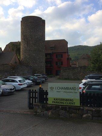 Hotel Parking Picture Of Chambard Kaysersberg Tripadvisor