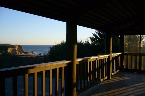 Davenport, CA: Porch view at Sunset