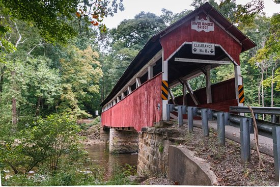 Addison, PA: Nearby Lower Humbart covered bridge