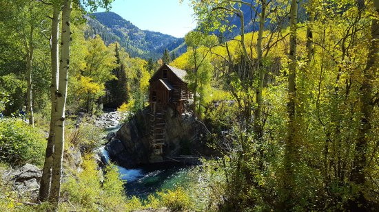 Crystal River Jeep Tours: Crystal Mill, Mon. Sep.25, 2017