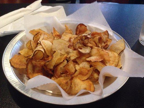 Hemphill, TX: Home made potato chips