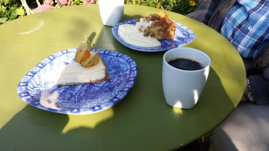 Loderup, Suecia: hyllepaj och äpplekaka