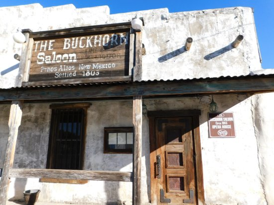 Pinos Altos, Nuevo Mexico: The Buckhorn Saloon