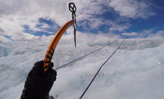 McCarthy, AK: Ice climbing!