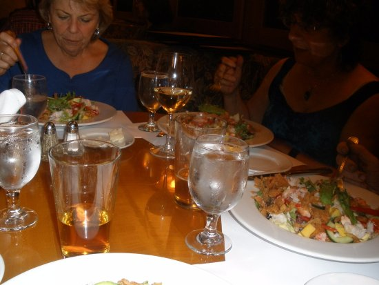 Los Gatos, CA: chowing down on the lobster, crab salads, plenty for main