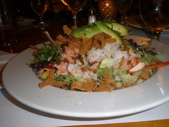 Los Gatos, CA: Lobster, crab salad