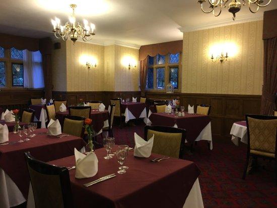 Abbots Salford, UK: Restaurant