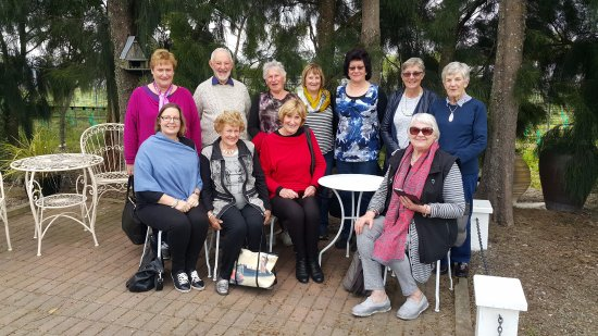 After a good lunch at Tirohana Estate, Martinborough, New Zealand