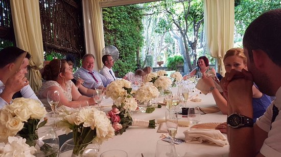Terrazza Marziale: A fantastic setting, meal and a wonderful wedding. Thank you all :-)