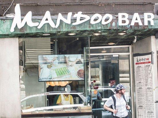 Front view of Mandoo Bar