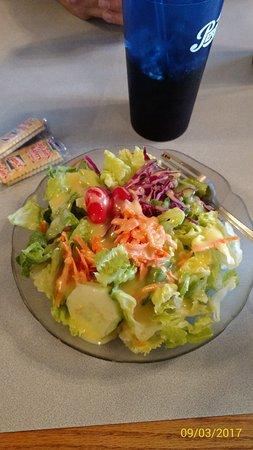Easley, Carolina del Sud: Side salad