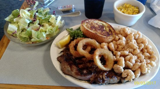 Easley, SC: Steak & shrimp combo