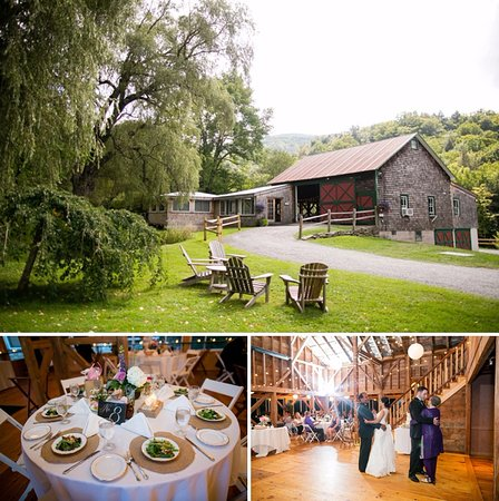 Oliverea, Nova York: Formal dinners and dancing in the barn!
