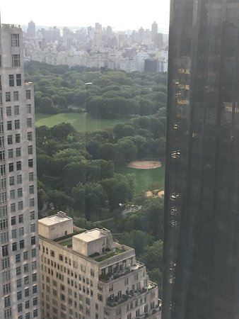 Mandarin Oriental, New York: Partial view of Central Park
