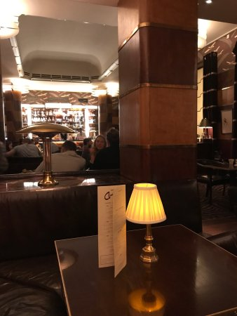 Quiet Art Deco Elegance - Picture of Bar Americain, London - TripAdvisor