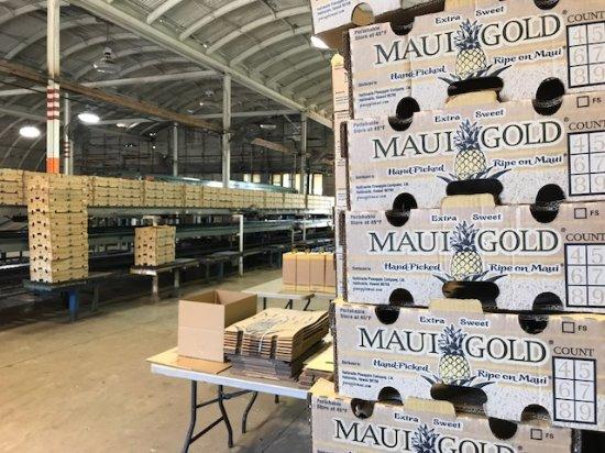 Makawao, Χαβάη: Packing House -Maui Pineapple Tours