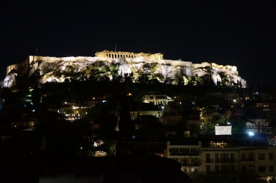Plaka Hotel: view from the roof