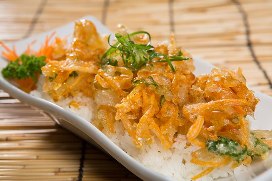 Peregian Beach, أستراليا: tempura vege don (gluten & dairy free)