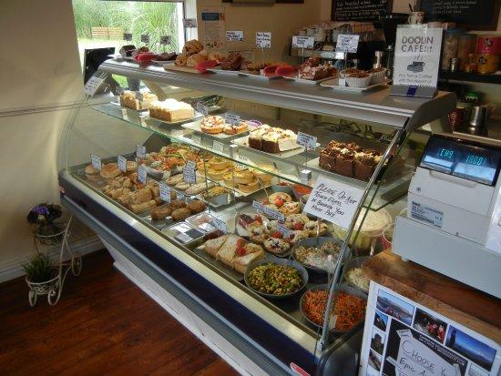 Doolin Cafe: Display Case