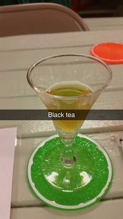Duette, Flórida: Black Tea Wine, try it both hot and cold!