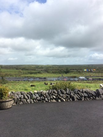 Caherconnell, Ireland: View from the Visitor Center