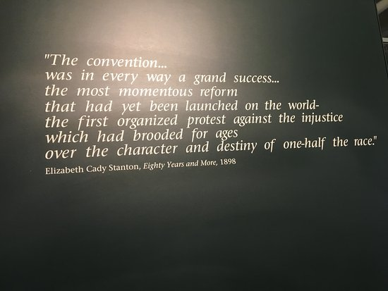 Seneca Falls, NY: quote