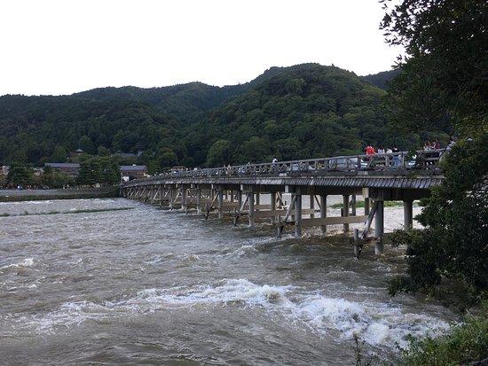 how to get to arashiyama monkey park from kyoto station