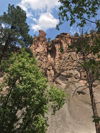 Los Alamos, NM: The cliffs