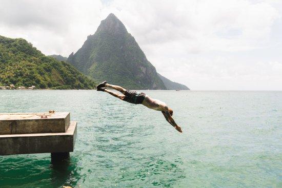 Vieux Fort, St. Lucia: Piton dive
