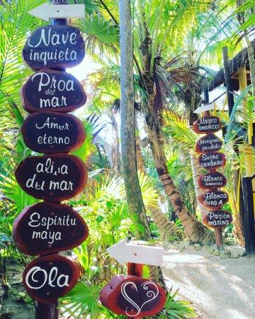 Nueva Vida de Ramiro: Directions to your cabana/suite
