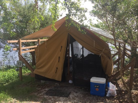 Quiet Waters Park: Campsite #17