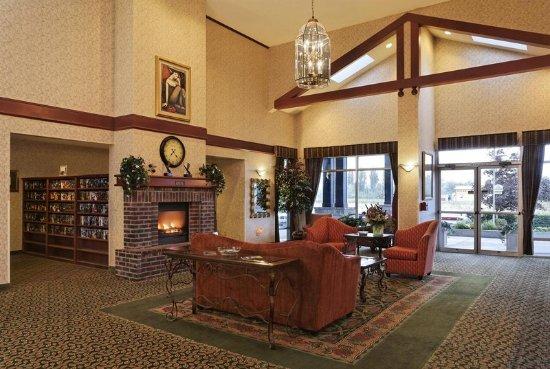 The Ashley Inn of Tillamook: Lobby view