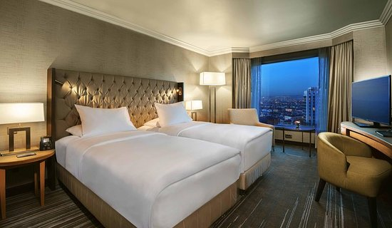 Ankara Hilton SA: Twin Deluxe Room