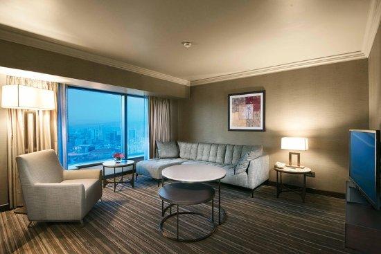 Ankara Hilton SA: Deluxe Suite_Living room