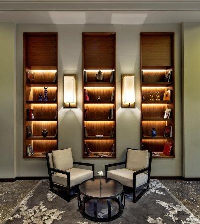 Ankara Hilton SA: Library