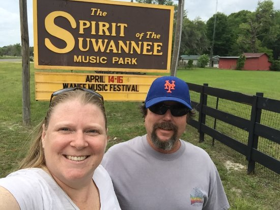 Spirit of the Suwannee Music Park: Entrance
