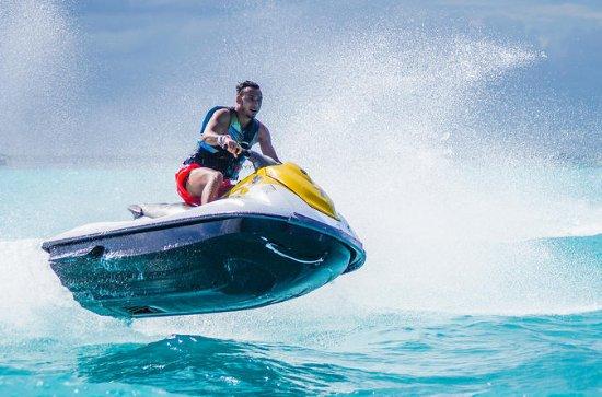 WaveRunners in Cancun