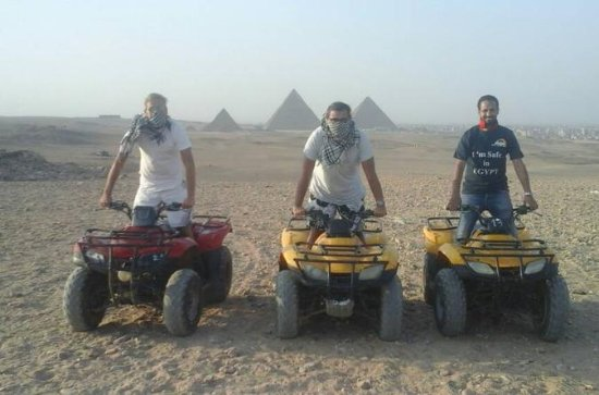 Giza Pyramids Adventure Tours on ATV...