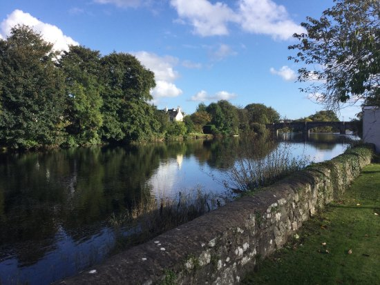 Newton Stewart, UK: These were taken along side King Street on the 30/9/17, we were lucky with the weather!