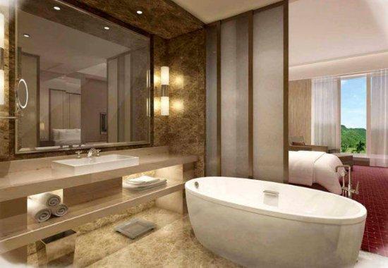 Ji County, China: Guest Bathroom