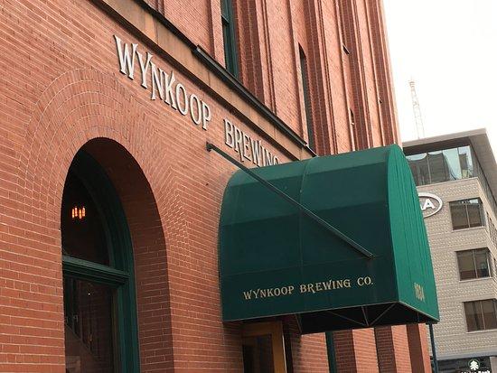 Wynkoop Brewing Company : Awning with Logo