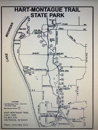 Hart, MI: Map